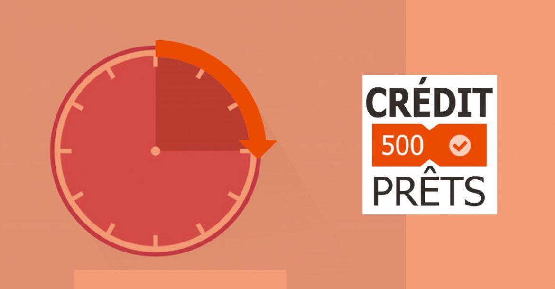 prêt court terme credit500prets
