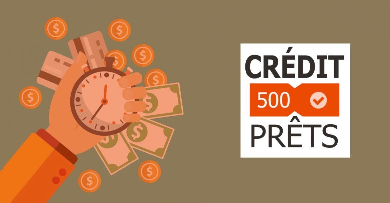 mauvaise cote de crédit Crédit500prêts
