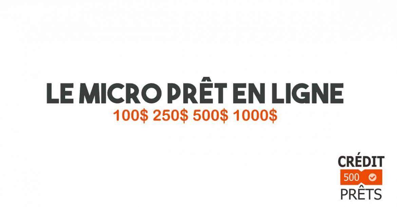 micro prêt sans crédit