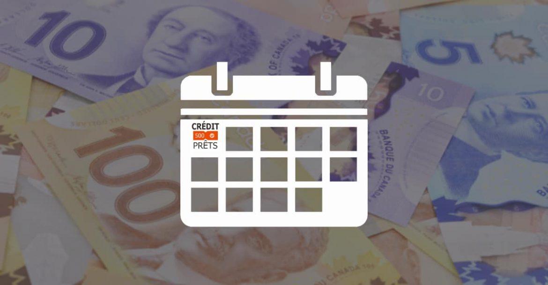 Le prêt sur salaire au Québec